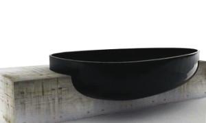 Черная ванная.